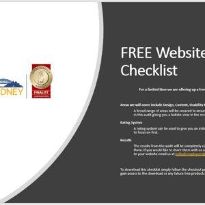 Free Website Audit Checklist